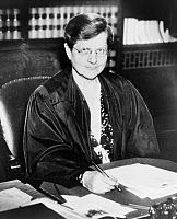 0621789 © Granger - Historical Picture ArchiveFLORENCE ELLINWOOD ALLEN   (1884-1966). American judge. Photograph, 1938.