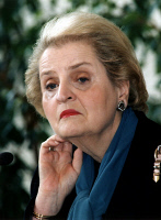 0623501 © Granger - Historical Picture ArchiveMADELEINE ALBRIGHT (1937- ). American politician and United States Secretary of State, 1997-2001. Photograph, February 1997. Full Credit: ullstein bild - Spiegl / Granger. All Rights Reserved.