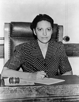 0527891 © Granger - Historical Picture ArchiveJANE BOLIN (1908-2007).   American attorney, and first African-American woman judge in the United States. Photograph, 1942.