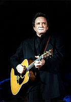 0322817 © Granger - Historical Picture ArchiveJOHNNY CASH (1932-2003).   American musician. Photograph, 1997. Full credit: Brill - ullstein bild / Granger, NYC -- All Rights Reserved.