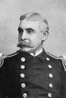 0370193 © Granger - Historical Picture ArchiveCOLBY MITCHELL CHESTER   (1844-1932). U.S. Navy admiral. Commander of the USS Cincinnati during the Spanish-American War. Photograph, 1898.