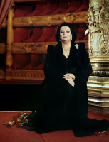 0409105 © Granger - Historical Picture ArchiveMONTSERRAT CABALLÉ (1933- ).   Spanish operatic soprano. Photographed in London, 1992.
