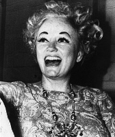 0170411 © Granger - Historical Picture ArchivePHYLLIS DILLER (1917-2012).   American actress and comedienne. Photographed in Columbus, Ohio, 31 August 1972, eight months after receiving her first face-lift.