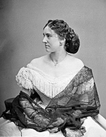 0527342 © Granger - Historical Picture ArchivePORTRAIT: WOMAN, c1865.   Portrait of Miss Lucy Dean. Photograph, c1865.