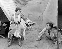 0058076 © Granger - Historical Picture ArchiveROSCOE 'FATTY' ARBUCKLE   (1887-1933). American cinema actor in 'Camping Out,' 1919.