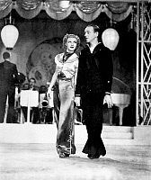 0017228 © Granger - Historical Picture ArchiveASTAIRE & ROGERS, 1936.   Fred Astaire with Ginger Rogers in 'Follow the Fleet,' 1936.