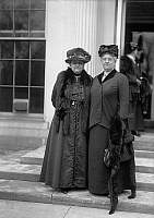 0266809 © Granger - Historical Picture ArchiveADDAMS AND McDOWELL, 1914.   American social reformers Jane Addams and Mary McDowell. Photograph, 1914.