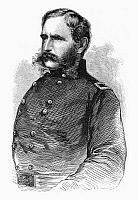 0097539 © Granger - Historical Picture ArchiveCHRISTOPHER C. AUGUR   (1821-1898). American army officer. Wood engraving, American, 1863, after a photograph.