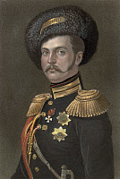 0009426 © Granger - Historical Picture ArchiveALEXANDER II (1818-1881).   Czar of Russia, 1855-1881. Mezzotint by John Sartain, 1857.