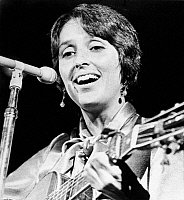 0058141 © Granger - Historical Picture ArchiveJOAN BAEZ (1941- ).   American folksinger and songwriter. Photographed, 24 March 1972, during a benefit concert in Memphis, Tennessee.
