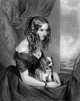 0058658 © Granger - Historical Picture ArchiveSELINA LOUISA BRADFORD   (d. 1894). Née Selina Louisa Forester. Countess of Bridgeman. English confidante of Benjamin Disraeli. Steel engraving, 1841, after a painting by Sir Francis Grant.