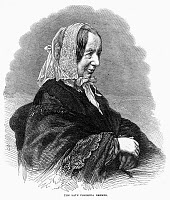 0268592 © Granger - Historical Picture ArchiveFREDRIKA BREMER (1801-1865).   Swedish novelist. Wood engraving, English, 1866.