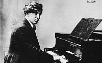 0056292 © Granger - Historical Picture ArchiveFERRUCCIO BUSONI   (1866-1924). Italian pianist and composer.