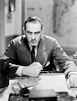 0058215 © Granger - Historical Picture ArchiveJOHN BARRYMORE (1882-1942).   American actor. In a scene from 'Night Flight' (MGM, 1933).