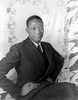 0125648 © Granger - Historical Picture ArchiveFÉRAL BENGA, 1937.   American actor. Photographed by Carl Van Vechten, 1937.