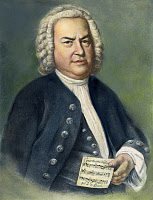 0007886 © Granger - Historical Picture ArchiveJOHANN SEBASTIAN BACH   (1685-1750). German organist and composer. Lithograph after the painting by Elias Gottlob Haussmann.