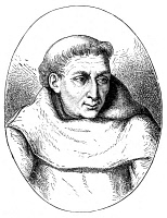 0054526 © Granger - Historical Picture ArchiveROGER BACON (c1214-1294).   English philosopher and man of science. Wood engraving, 19th century.