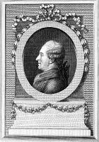 0058352 © Granger - Historical Picture ArchivePIERRE de BEAUMARCHAIS   (1732-1799). Full name: Pierre Augustin Caron de Beaumarchais. French financier and playwright. Copper engraving, late 18th century.