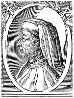 0064187 © Granger - Historical Picture ArchiveFILIPPO BRUNELLESCHI   (1377-1446). Italian architect. Woodcut by Giorgio Vasari from his biographies of Italian artists, 1550.