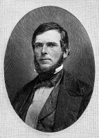 0050248 © Granger - Historical Picture ArchiveJOHN BIDWELL (1819-1900).   American pioneer. Wood engraving, 1890, after a daguerreotype of 1850.