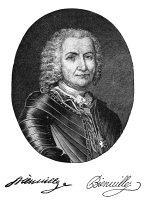 0001559 © Granger - Historical Picture ArchiveSIEUR DE BIENVILLE (1680-1747).   Jean-Baptiste Le Moyne, French colonial administrator and founder of New Orleans. Line engraving, 19th century.