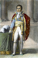 0076694 © Granger - Historical Picture ArchiveJOSEPH BONAPARTE (1768-1844).   King of Naples, 1806-1808, and of Spain, 1808-1814; elder brother of Napoleon Bonaparte. Steel engraving, 19th century.