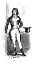 0005187 © Granger - Historical Picture ArchiveGEORGE BRYAN BRUMMELL   (1778-1840). Known as Beau Brummell. English dandy. Wood engraving, American, 1855.