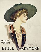 0106434 © Granger - Historical Picture ArchiveETHEL BARRYMORE (1879-1959).   American actress. Lithographic poster, early 20th century.