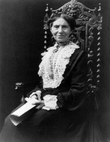 0622582 © Granger - Historical Picture ArchiveCLARA BARTON (1821-1912).   Founder and president of the American Red Cross. Photograph, c1904.
