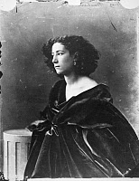 0012994 © Granger - Historical Picture ArchiveSARAH BERNHARDT (1844-1923).   French actress. Photographed c1866 by Nadar.