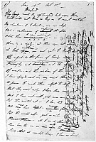 0106658 © Granger - Historical Picture ArchiveBYRON: MANFRED, 1816-17.   Handwritten page from 'Manfred,' by George Gordon Byron, 1816-17.