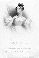 0058889 © Granger - Historical Picture ArchiveANNE ISABELLA BYRON   (1792-1860). Nee Milbanke. Wife of the poet, Lord Byron. Stipple engraving, English, 1833.