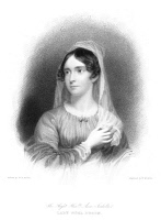 0058890 © Granger - Historical Picture ArchiveANNE ISABELLA BYRON   (1792-1860). Nee Milbanke. Wife of the poet, Lord Byron. Stipple engraving, English, 1832.
