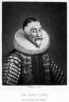 0067872 © Granger - Historical Picture ArchiveSIR JOHN COKE (1563-1644).   Secretary of State to King Charles I of England. Mezzotint, 1813, by Robert Dunkarton.