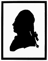 0058922 © Granger - Historical Picture ArchiveVINCENZO CALVESI.   Italian tenor. Created the role of Fernando in the first performance of Mozart's 'Cosi Fan Tutte' at the Hofburg-theater in Vienna, January 26, 1790. Contemporary silhouette by H. Loschenkohl.