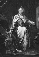0003083 © Granger - Historical Picture ArchiveCATHERINE II (1729-1796).   Empress of Russia, 1762-96. Mezzotint, American, 1865.