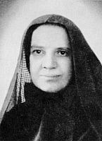 0040203 © Granger - Historical Picture ArchiveFRANCES CABRINI (1850-1917).   Known as Mother or Saint Frances Xavier Cabrini. American (Italian born) religious figure.