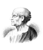 0036427 © Granger - Historical Picture ArchiveMARCUS PORCIUS CATO   (234-149 B.C.). Known as Cato the Censor and Cato the Elder. Roman statesman. Line engraving.
