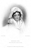 0076003 © Granger - Historical Picture ArchiveMARGARITA COGNI.   Mistress of Lord Byron. Steel engraving, 1832, after a portrait of c1818.