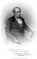 0067842 © Granger - Historical Picture ArchiveJAMES FENIMORE COOPER   (1789-1851). American novelist. Steel engraving after a daguerreotype, 1850, by Mathew Brady.