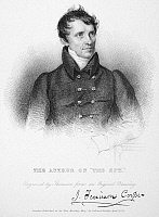 0067843 © Granger - Historical Picture ArchiveJAMES FENIMORE COOPER   (1789-1851). American novelist. Line and stipple engraving, 1831.