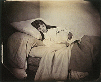 0117266 © Granger - Historical Picture ArchiveALEXANDRA KITCHIN (1864-1925).   'Rosy Dreams and Slumbers Light.' Alexandra 'Xie' Rhoda Kitchin, a favorite model of Charles Lutwidge Dodgson, also known as Lewis Carroll, who created the photograph, c1873.