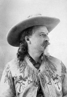 0001990 © Granger - Historical Picture ArchiveWILLIAM F. CODY (1846-1917).   William Frederick Cody. Known as Buffalo Bill. American frontiersman and showman.