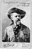 0017568 © Granger - Historical Picture ArchiveWILLIAM F. CODY (1846-1917).   William Frederick Cody. Known as Buffalo Bill. American frontiersman and showman.
