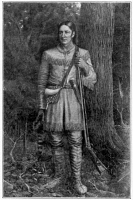 0068233 © Granger - Historical Picture ArchiveDAVY CROCKETT (1786-1836).   American frontiersman. Illustration, 19th century, after a painting.