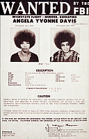 0037864 © Granger - Historical Picture ArchiveANGELA DAVIS (1944- ).   American political activist. On an FBI 'Wanted' poster, issued on 18 August 1970.
