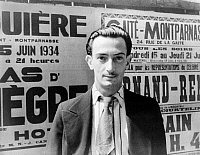 0108706 © Granger - Historical Picture ArchiveSALVADOR DALI (1904-1989).   Spanish painter. Photographed in Paris by Carl Van Vechten on 16 June 1934.