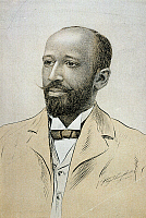 0009682 © Granger - Historical Picture ArchiveWILLIAM E.B. DU BOIS   (1868-1963). American educator, editor, and writer. Drawing c1910, after a photograph.