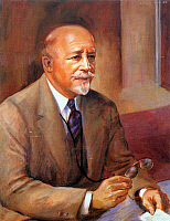 0065012 © Granger - Historical Picture ArchiveWILLIAM E.B. DU BOIS   (1868-1963). American educator, editor, and writer. Oil on canvas by Laura Wheeler Waring.