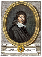 0008863 © Granger - Historical Picture ArchiveRENE DESCARTES (1596-1650).   French mathematician and philosopher. Line engraving, French, 18th century.